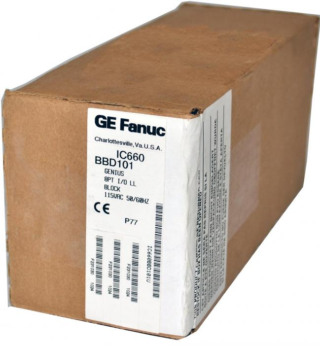 GE Fanuc IC660BBD101 Qty 4 In Stock - Lowest Price - Free Shipping